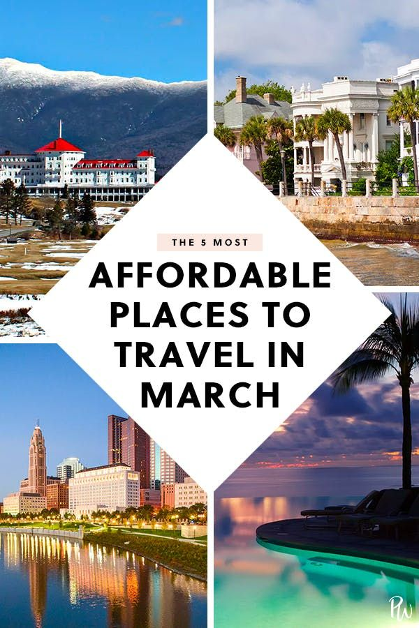 The 5 Best Places To Travel In March Best Island Vacation Best Places To Vacation March Vacation