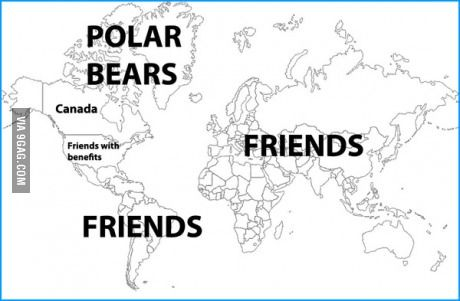 A map of Canadas diplomatic relations around the world Proud