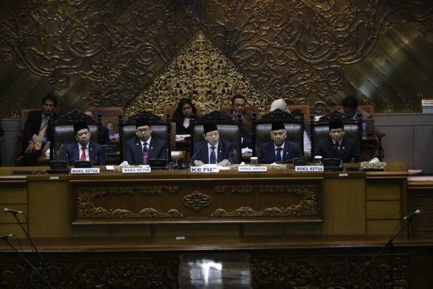 Koalisi Merah Putih di Kursi Pimpinan DPR RI