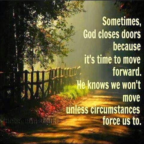 Soms staat de Heere toe dat er een deur gesloten wordt. En Hij geeft geen uitzicht, dan alleen een venster naar boven gericht. Gods' antwoord in moeilijke tijden.