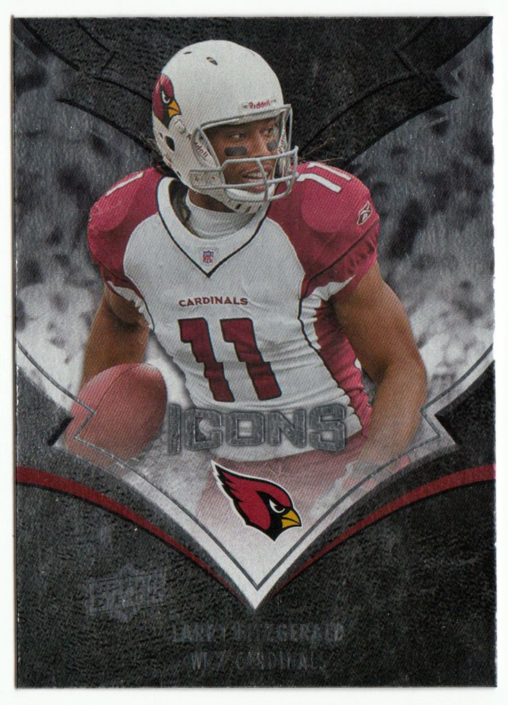 Larry fitzgerald 2 2008 upper deck icons football