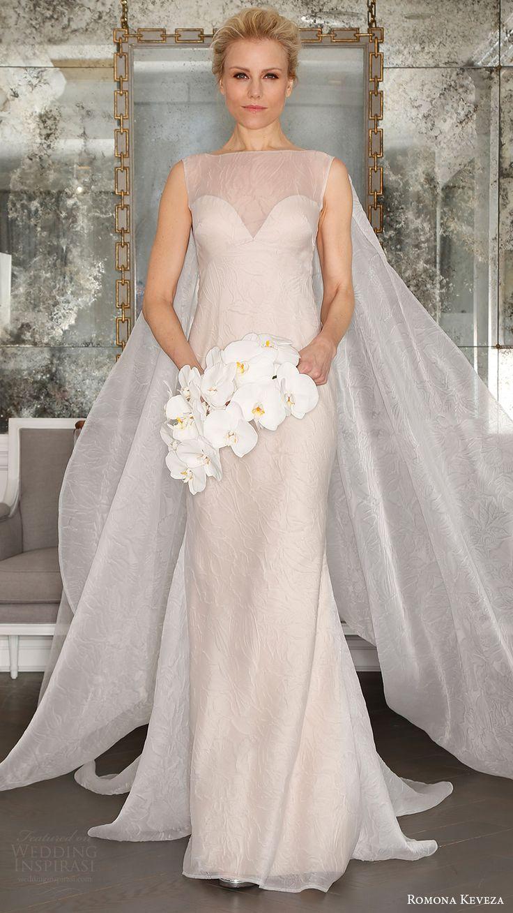 romona keveza bridal spring 2017 sleeveless sweetheart illusion bateau neck (rk7400) mv detachable watteau train
