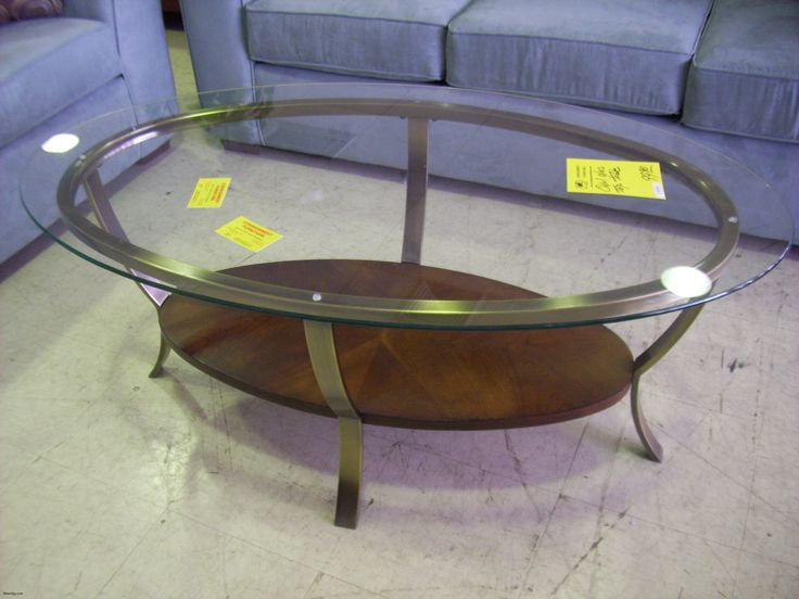 Fine Best Oval Glass Coffee Table , Clear Vintage Oval Glass Top Coffee  Table To Plete Design