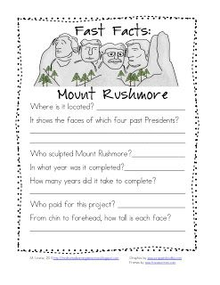 31 best activities for Mount Rushmore images on Pinterest