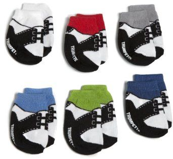 Pusat Toko Online Sepatu - Trumpette Bayi-anak laki-laki Bayi Baru Lahir Oxford 6 Pair Sock Set | Pusat Sepatu Bayi Terbesar dan Terlengkap Se indonesia