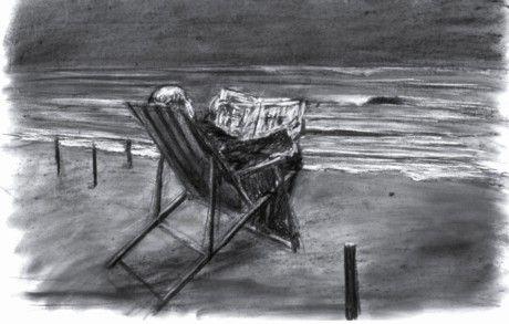 "willam kentridge: ""tide table"" gezeitenkalender videoinstalation 2003 k21 düsseldorf"