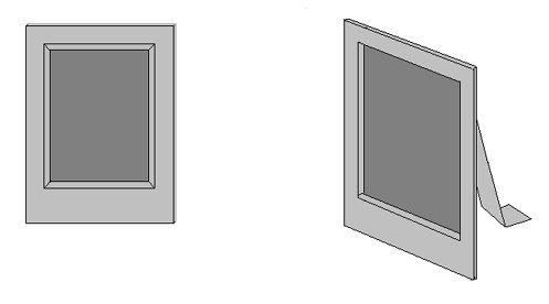 Основы флористики. Изготовление декоративной рамки-паспарту для флористического коллажа