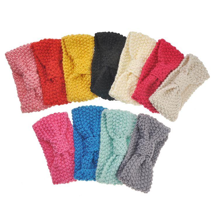 Новорожденный Тюрбан Уха Зима Теплая Повязка Вязание Крючком Вязаный Лента Для Волос Тюрбан Волос Аксессуары для Девочки Младенческой Малыша #CLICK! #clothing, #shoes, #jewelry, #women, #men, #hats