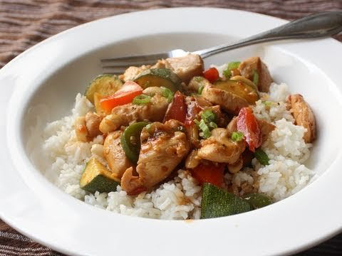 Food Wishes Recipes - Chicken Stir-Fry Recipe - Kung Wow Chicken - Easy Kung Pao Chicken for Beginners