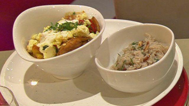 Indisches Curry mit Huhn und Rahmkäse (Steffen Henssler)