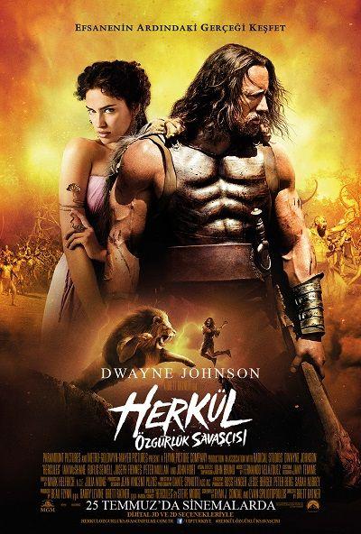 Herkul Ozgurluk Savascisi - Hercules - 2014 - BDRip Film Afis Movie Poster