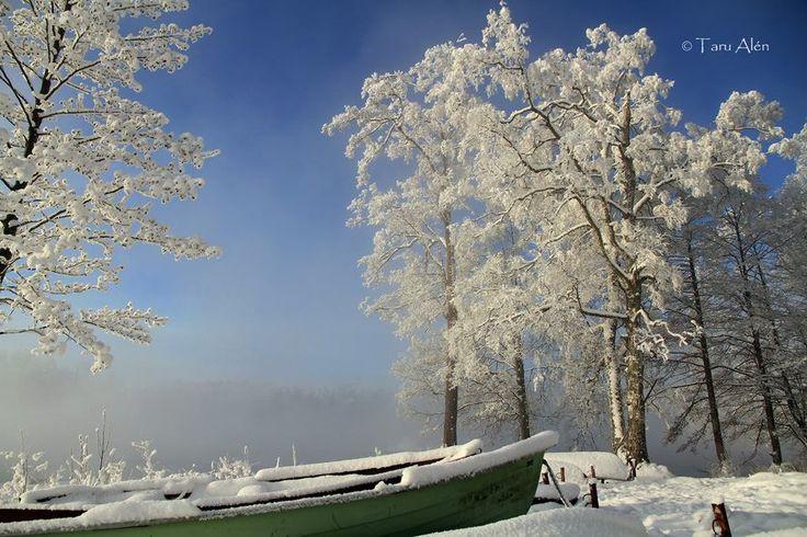 Heinola Finland, -30c degrees