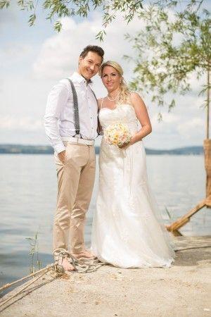 Dieses Brautpaar war auch super zufrieden mit Michael Harter Freier Redner.