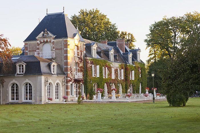 Domaine des Hauts de Loire. Restaurant d'un Grand Chef Relais & Châteaux et hôtel dans un parc. Onzain. #relaischateaux #hautsdeloire