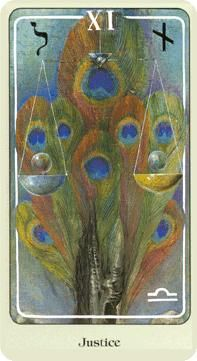 May 31 Tarot Card: Justice (Haindl deck) Now is a time to act in reasonable ways and seek greater balance -- with others, and within yourself