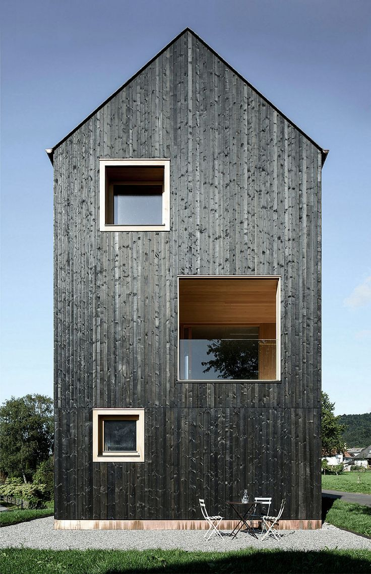 This All Black Timber Farmhouse Is Stunning Bt Bardage
