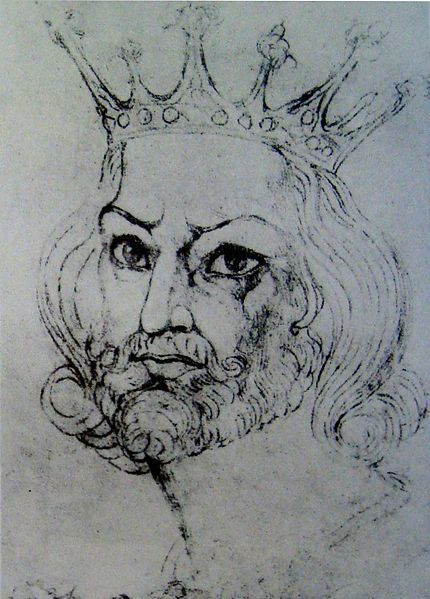 File:William Blake - King John - Counterproof - Butlin 732 240x190mm Private - Stamford, Connecticut.jpg