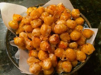 3 addictive snacks that are actually good for you - Michael Pollan - roasted chickpeas, sweet potato chips, kale chips