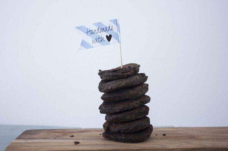 Black Beans og Portobello Bøffer - Lækkert alternativ til hakkebøffer