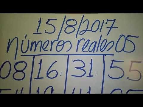 NÚMEROS PARA HOY 15/8/17 DE AGOSTO PARA TODAS LAS LOTERÍAS..!! HOY SE GANA..!!! - YouTube