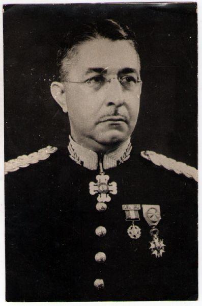General Mascarenhas de Morais Comandante da então Força Expedicionária Brasileira
