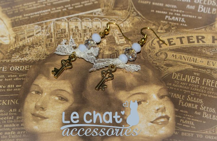 Handmade Earings  © Danae Lolou  Find me on Facebook & Instagram : Le Chat Accessories for more photos. https://www.facebook.com/lechataccessoriesdanae/  https://www.instagram.com/lechataccessories/