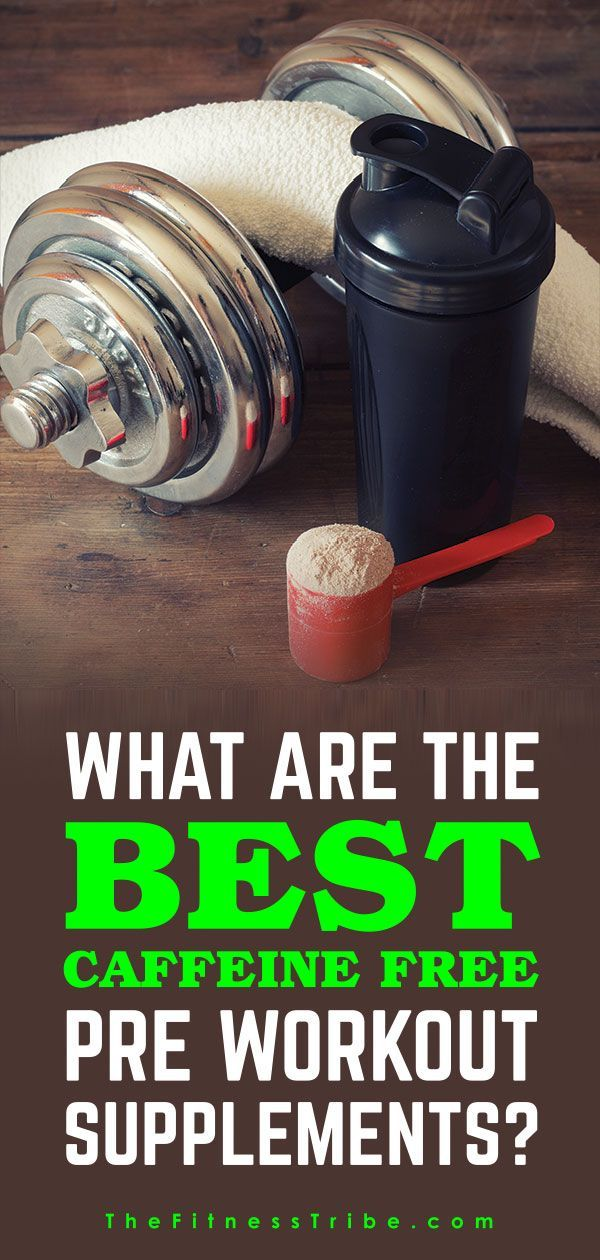 Do you want to try a pre-workout supplement but are sensitive to caffeine? Or maybe you are concerned with ingesting too much caffeine. Below we will go over why a caffeine-free pre-workout might be a good option and some advice on how to choose one.!