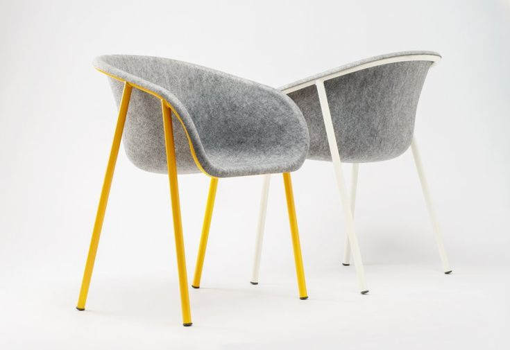 The seat of the LJ 1 Chair is made out of recycled PET bottles...  http://www.devorm.nl/products/lj1