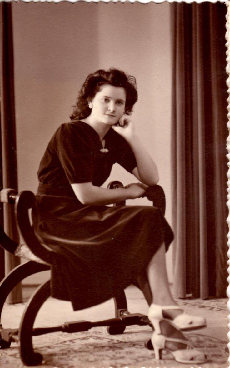 ritratto di donna anni '50