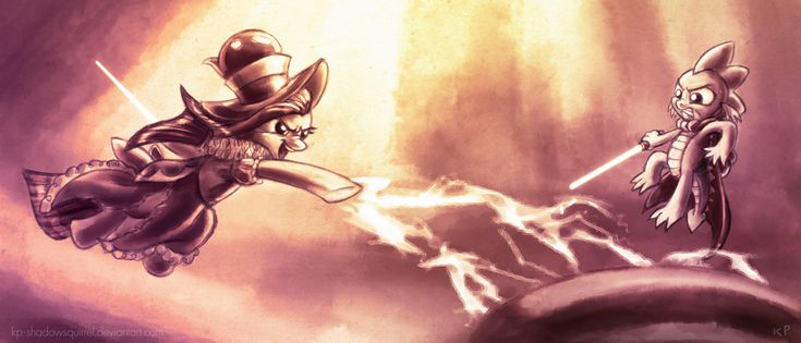 Empress Puddinghead VS. Spike... WHO WILL WIN???
