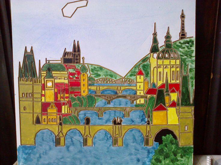 mosty Prahy.