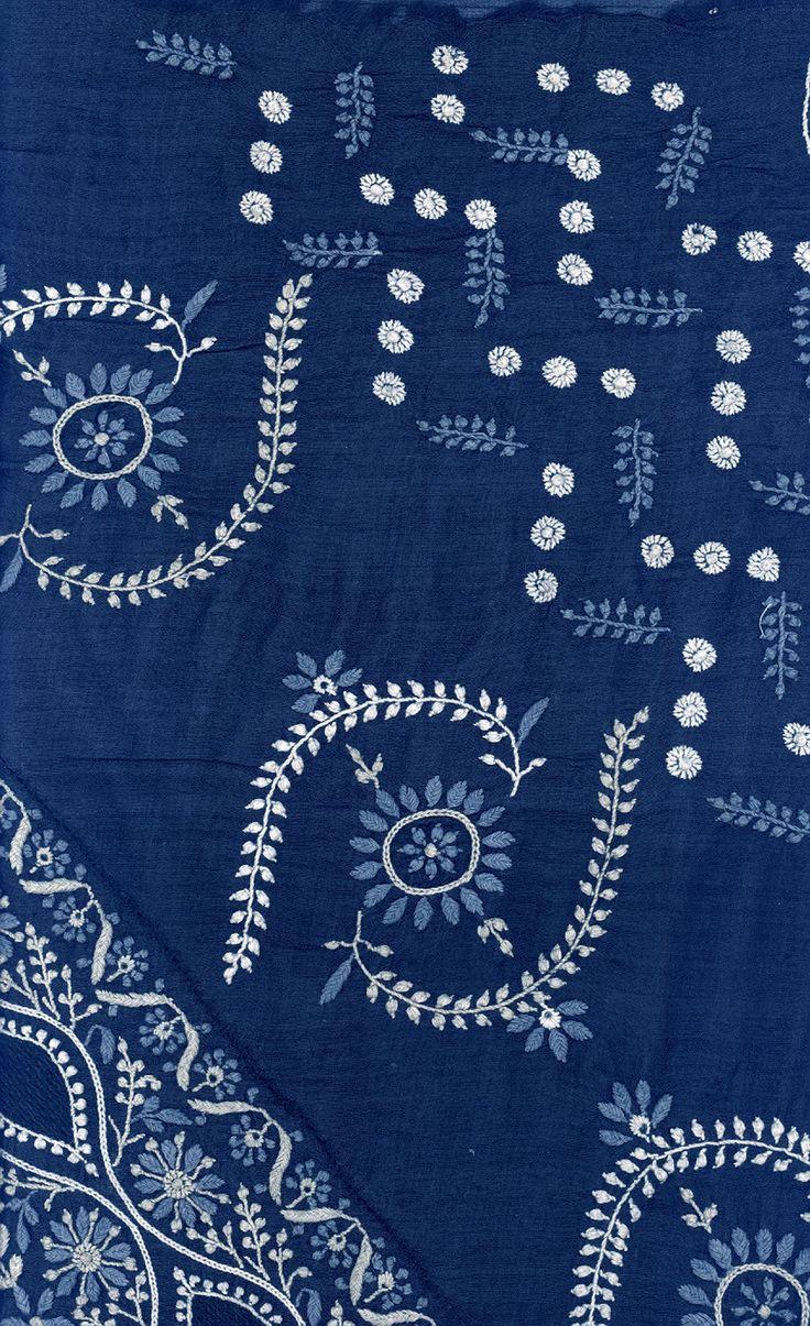 Chikankari Hand Embroidered Designs