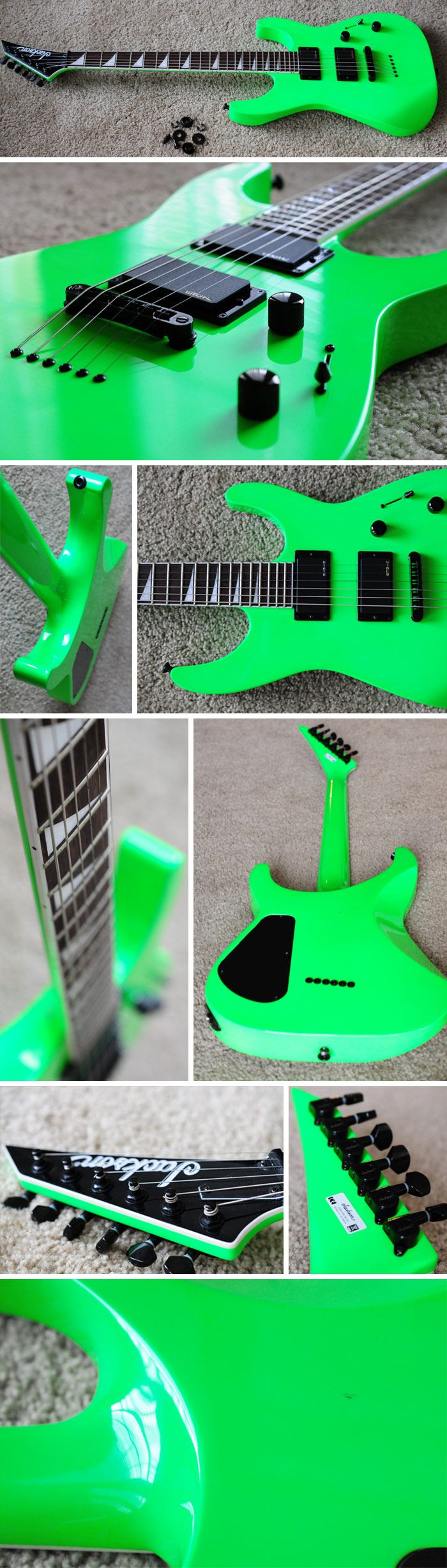 Kawasabi Green Jackson Soloist  All I can say is this is awesome!