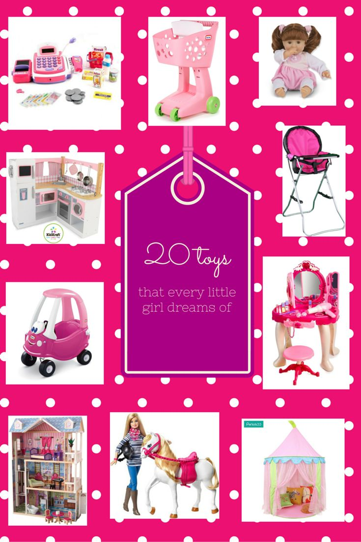 Not sure what your little girl will play with? Click here and see the best toys for girls!