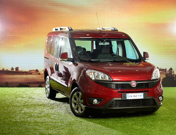 fourth generation fiat doblò is a modern, sporty & dynamic family car