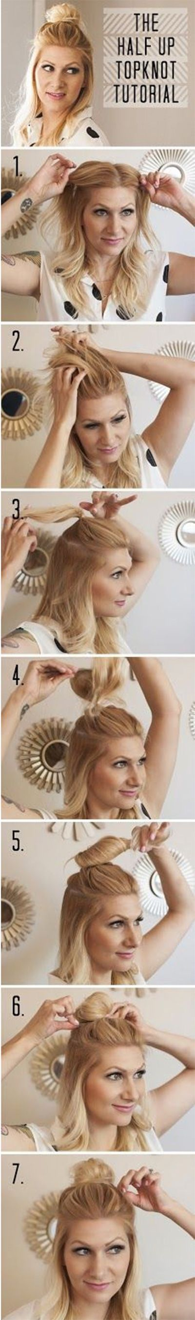12 Hacks to Get the Perfect Half-Up Bun, Your Fave Celebs' Go-To Hairstyle