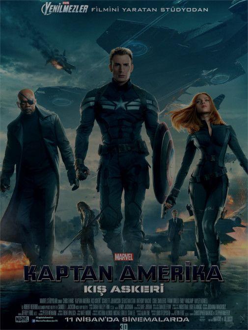 Kaptan Amerika Kış Askeri izle #hdfilmizle