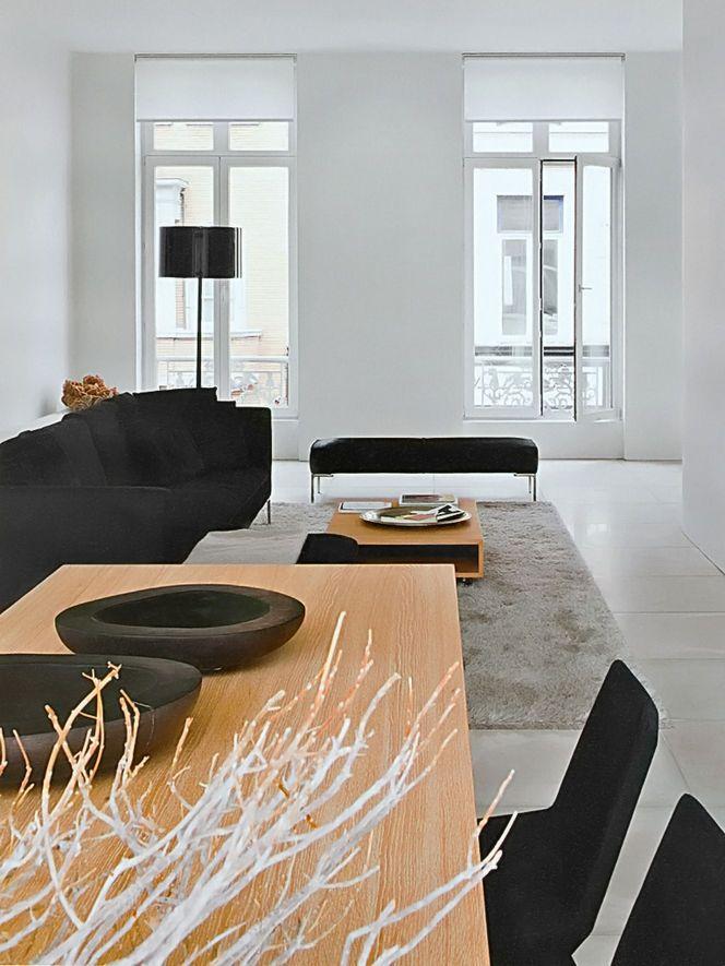 A modern and minimalist interior design