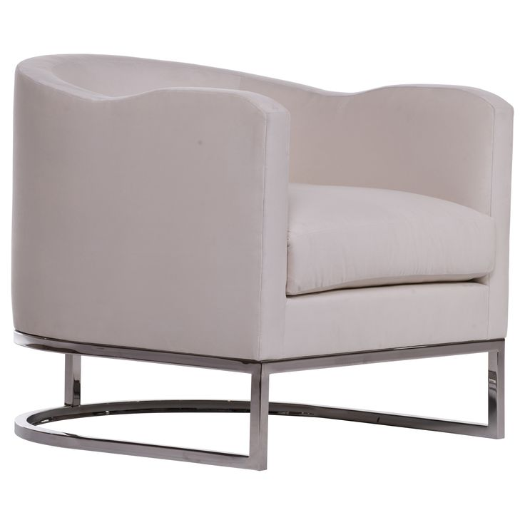 The Arlo Chair designed by Robert Petril for Mod Life Collection. #chair #custom #madeinusa #madeinLA #fabric #chrome