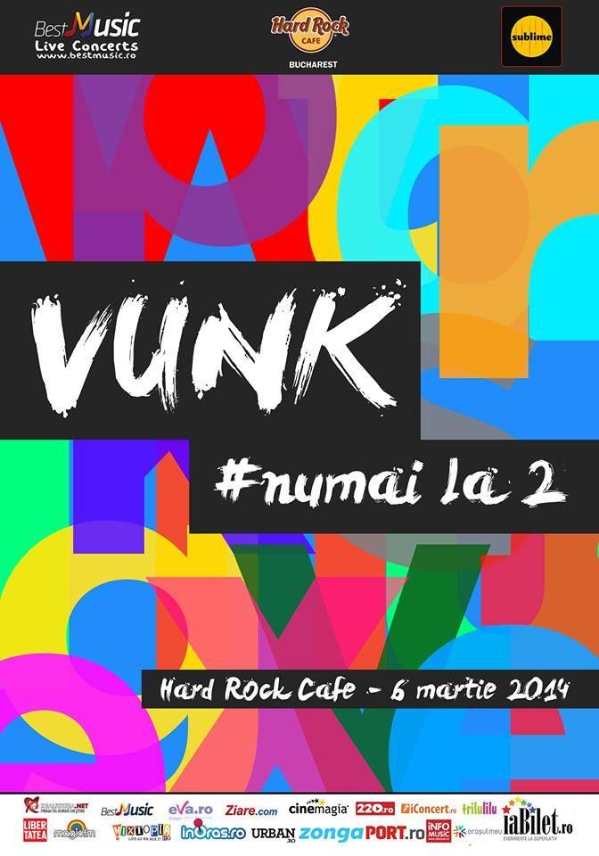 Vunk va canta pe 6 martie in Hard Rock Cafe  http://www.emonden.co/vunk-va-canta-pe-6-martie-hard-rock-cafe