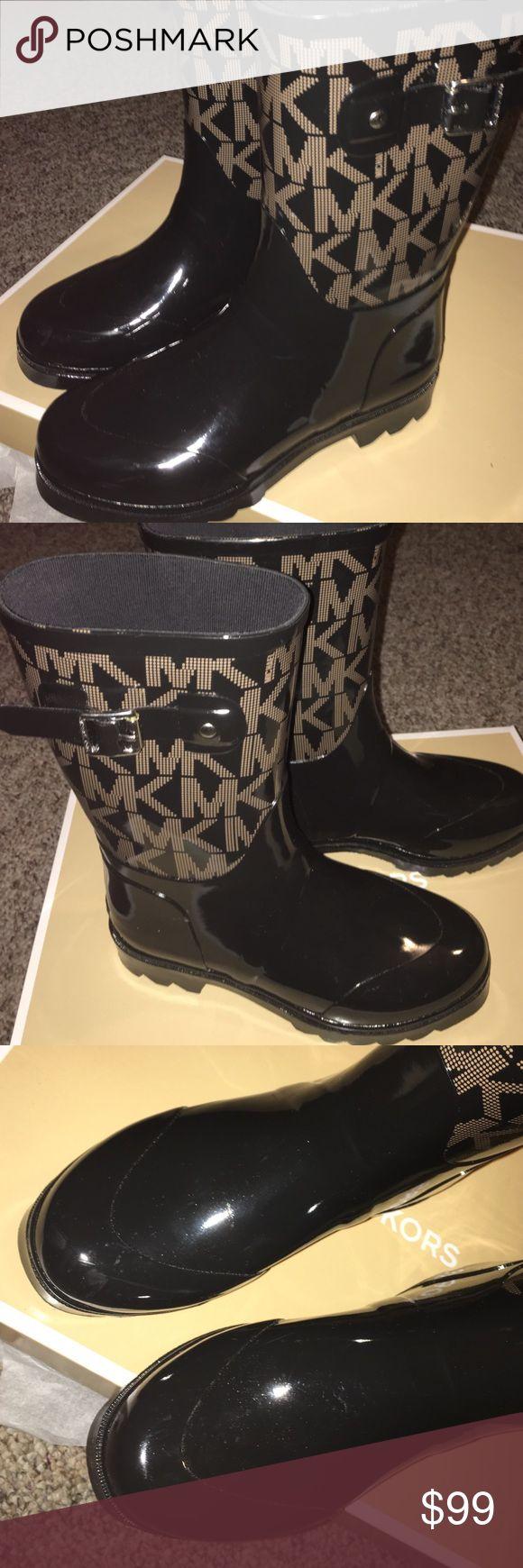 Michael Kors Rain boots - Brand New!!! Brand New with box MK rain boots. Size7. Michael Kors Shoes Winter & Rain Boots