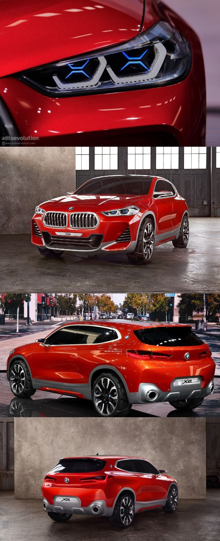Production bmw x2 will come up as its concept look