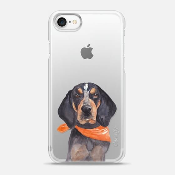 Casetify iPhone 7 Snap Case - Tennessee Volunteers Football Smokey Hound Dog Mascot by Cami Monet
