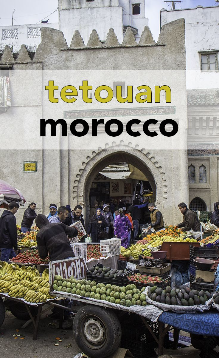 Tetouan has one of the smallest medinas in Morocco. Go there and you'll see a different side of North African life - especially on market day!