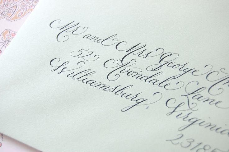 1000 Ideas About Wedding Invitation Envelopes On