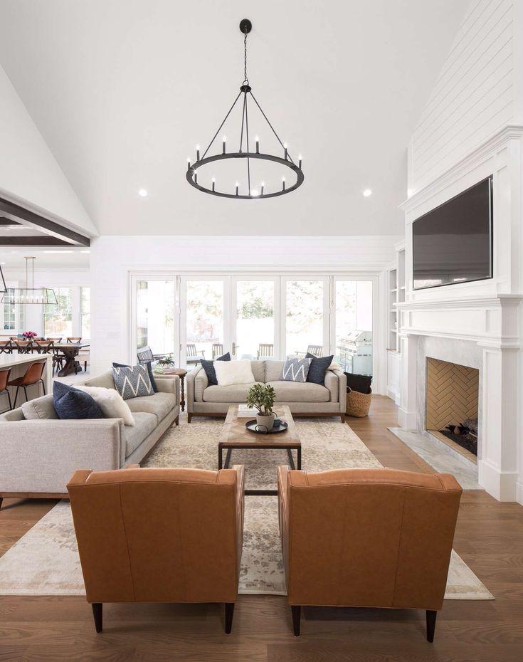35 The Best Rustic Farmhouse Living Room Decor Ideas