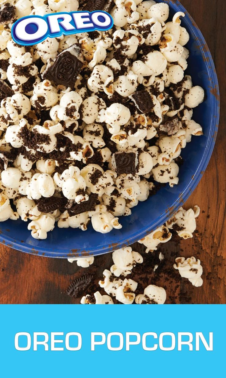 Looking for a bracket buster  This simple  sweet and salty snack will change the game for good  and it  s easier than ever to make  Take OREO Cookies  chopping some coarsely  and some finely  Then mix the crumbs into 6 cups of air popped popcorn  Top it off with a half teaspoon of salt and enjoy  Before  during or after the game  this delicious combination will have any crowd cheering loud and proud