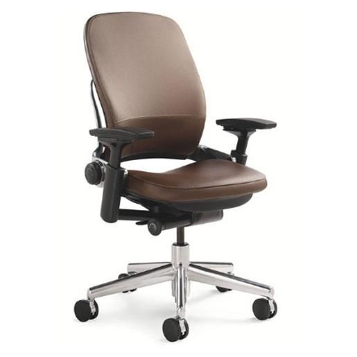 the steelcase leap chair leather aluminum base charters new territory in the world of