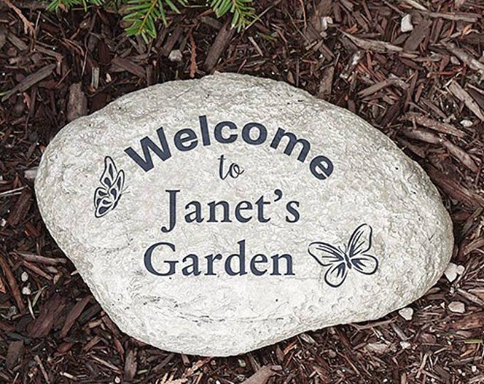 Personalized Garden Stone, Name Garden Stone