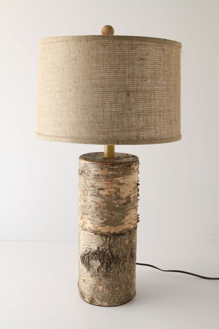 Antique wooden table lamps - 36 Amazing Diy Log Ideas Rustic Table Lampswood